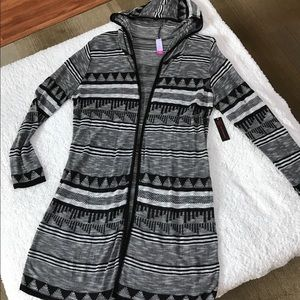 No Boundaries Thin Sweater/Duster XL Juniors